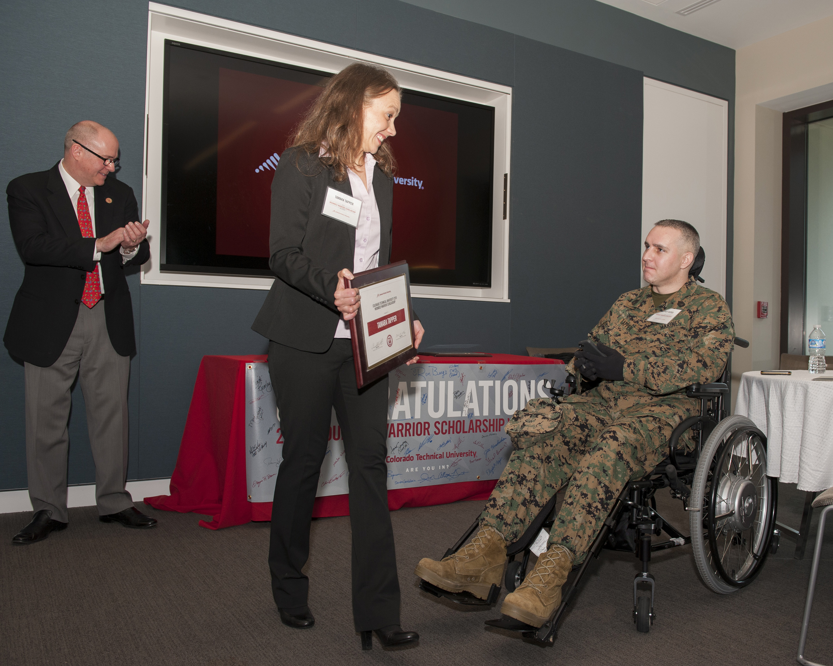 Colorado Technical University Honors 50 Wounded Warriors