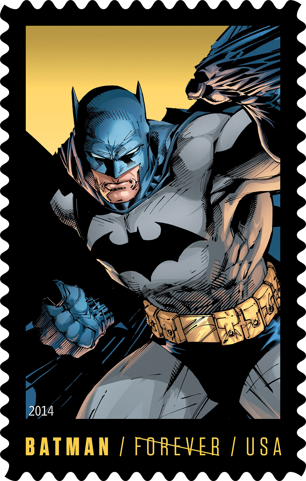 batman stamps dedication ceremony kicks off new york comic