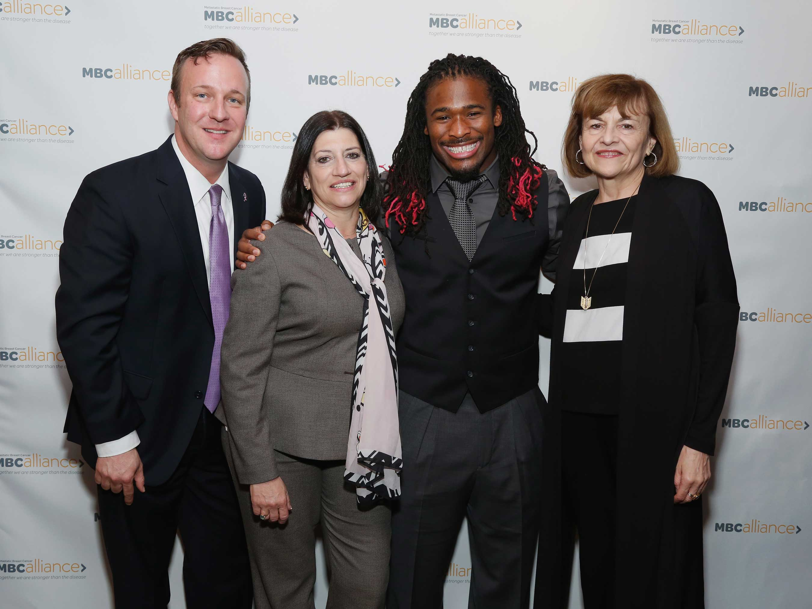 Professional Football Player DeAngelo Williams joins the Metastatic Breast Cancer Alliance's efforts in memory of his mother Sandra Hill who passed away from metastatic breast cancer in May 2014.