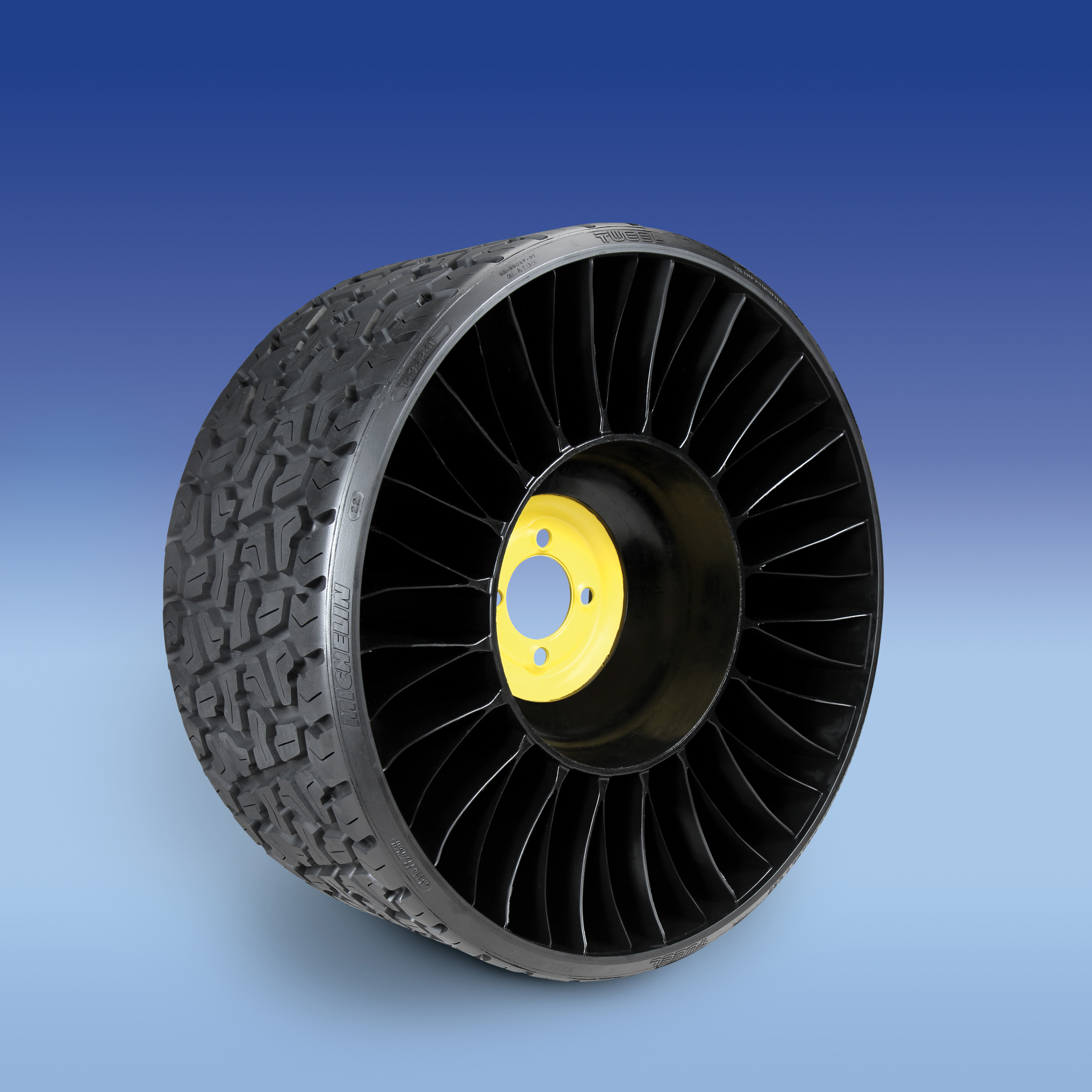 Michelin to provide airless radial tire for john deere ztrak 900 series line up