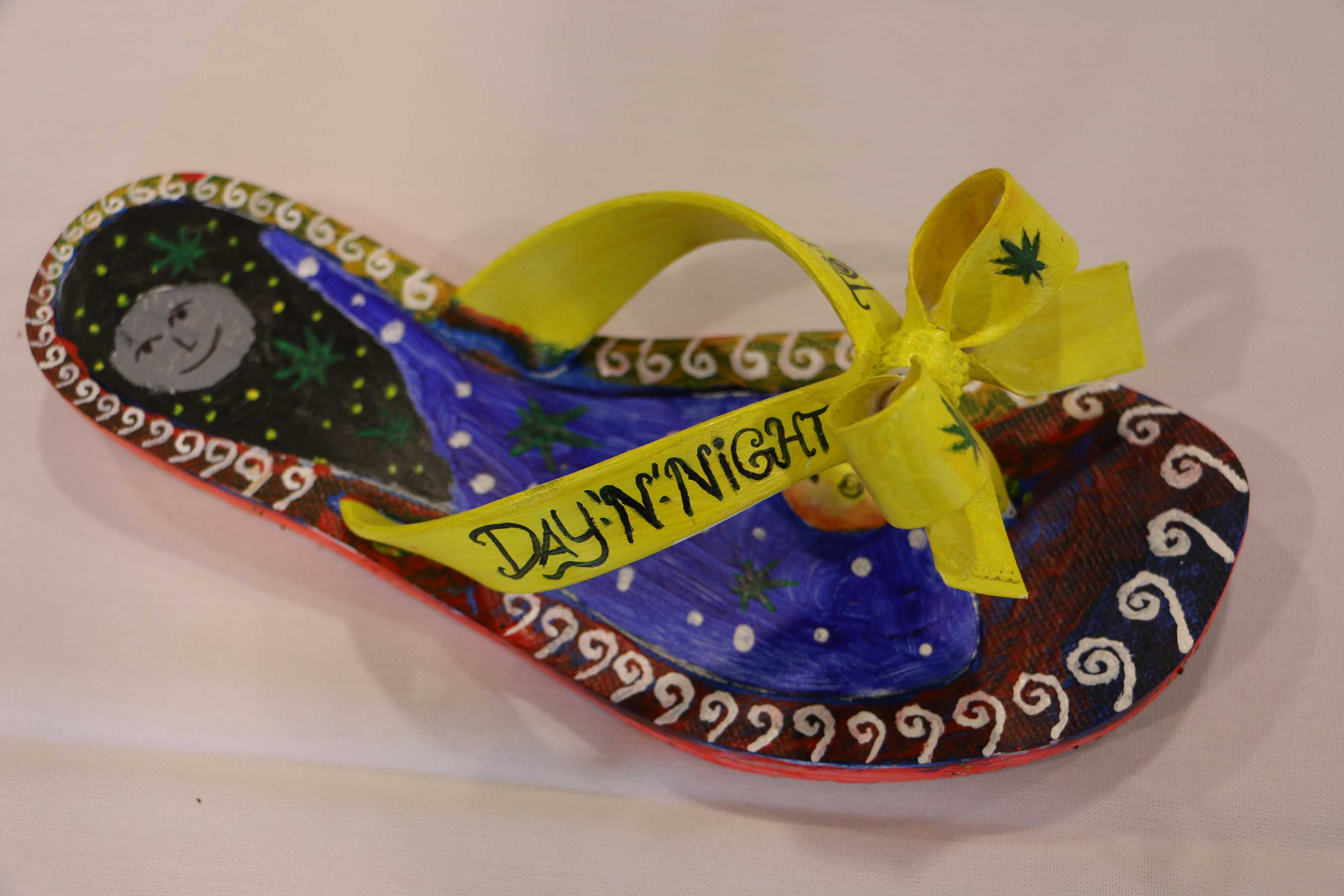 "Developed by teen patients at Rosecrance, ""In My Shoes"" displays shoes that teens in recovery have painted to tell their stories about substance use, recovery and their hopes for the future."