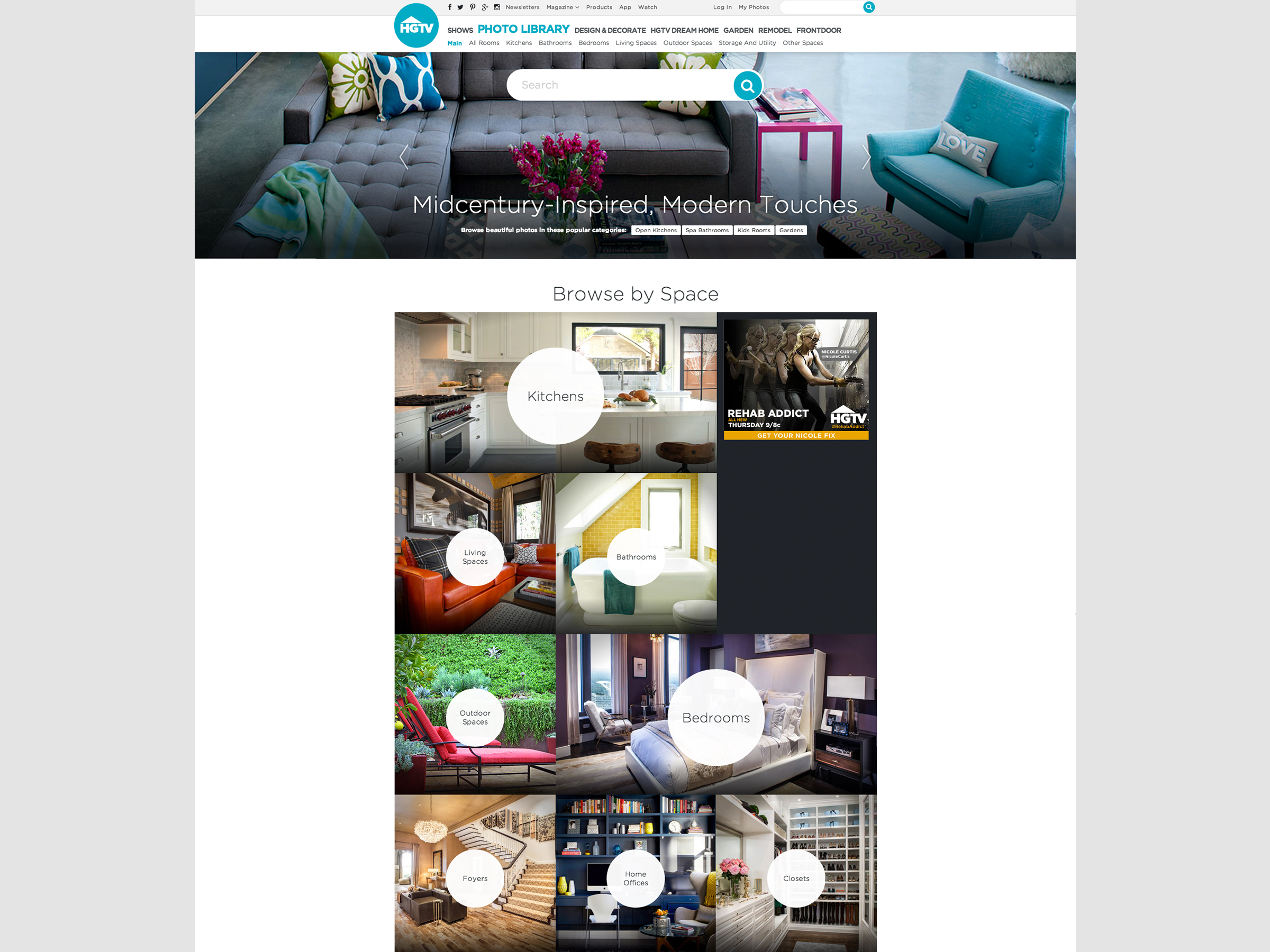 HGTV Unveils a Reimagined HGTV.com with Expanded Photo Liry of ... on interior design app, hgtv property brothers kitchen designs, urban design app, silhouette design app,