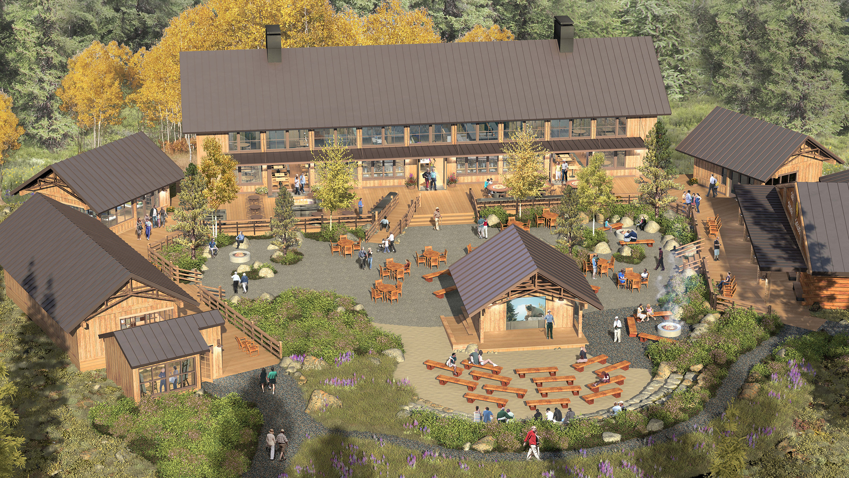 Holland America Line Breaks Ground On New Base Camp Complex At The Mckinley Chalet Resort Denali National Park