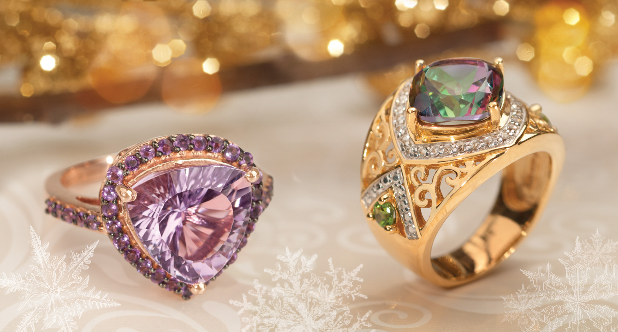 jewelry television launches let it glow holiday campaign
