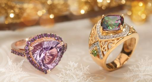 Find the royal colors of the season with JTV