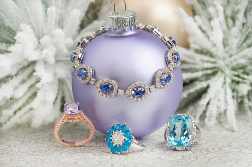 Find trendy pastels at JTV for the holidays