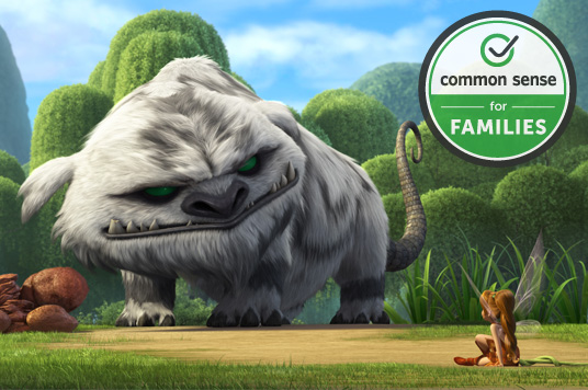 Tinker Bell and the Legend of the NeverBeast is the first direct-to-home release to be recognized with the Common Sense Seal.