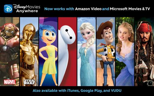 Disney Movies Anywhere is Now Available on even more screens!