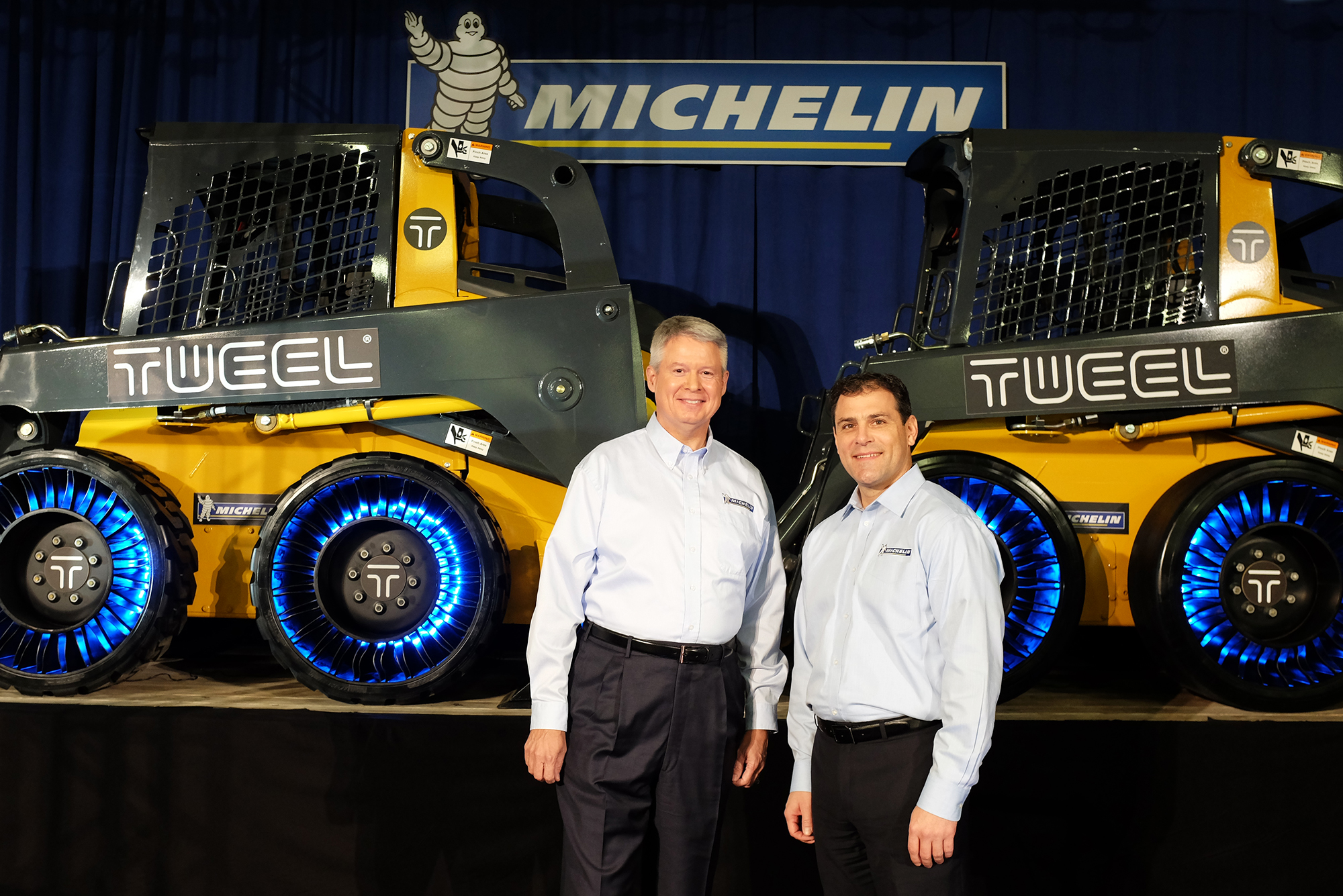 John Deere 100 Series >> MICHELIN OPENS WORLD'S FIRST MANUFACTURING PLANT TO BUILD REVOLUTIONARY AIRLESS RADIAL TIRE