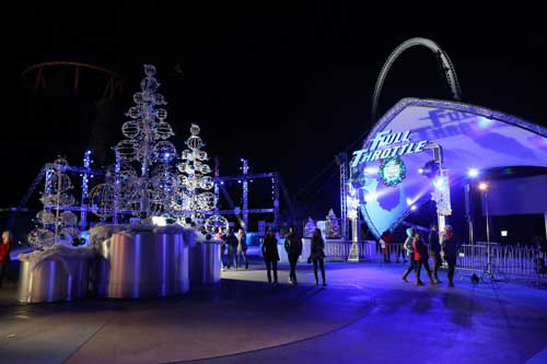 holiday in the park at six flags magic mountain the thrill capital of the world