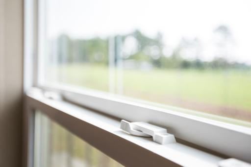 Low-E windows block UV rays & help keep conditioned air in.