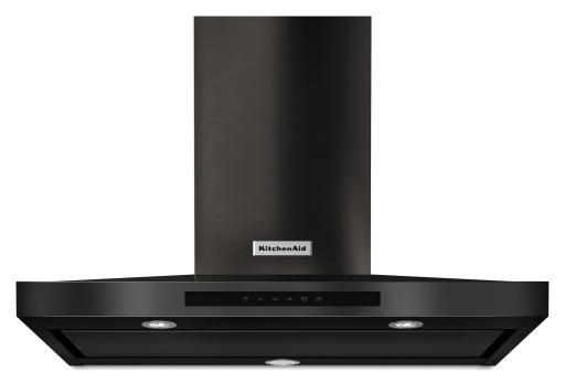 KitchenAid Black Stainless Steel Wall-Mount Canopy Hood