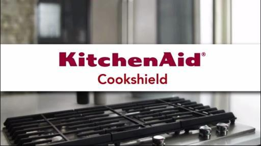 (OLD)KitchenAid Stainless Steel Gas Cooktop with CookShield