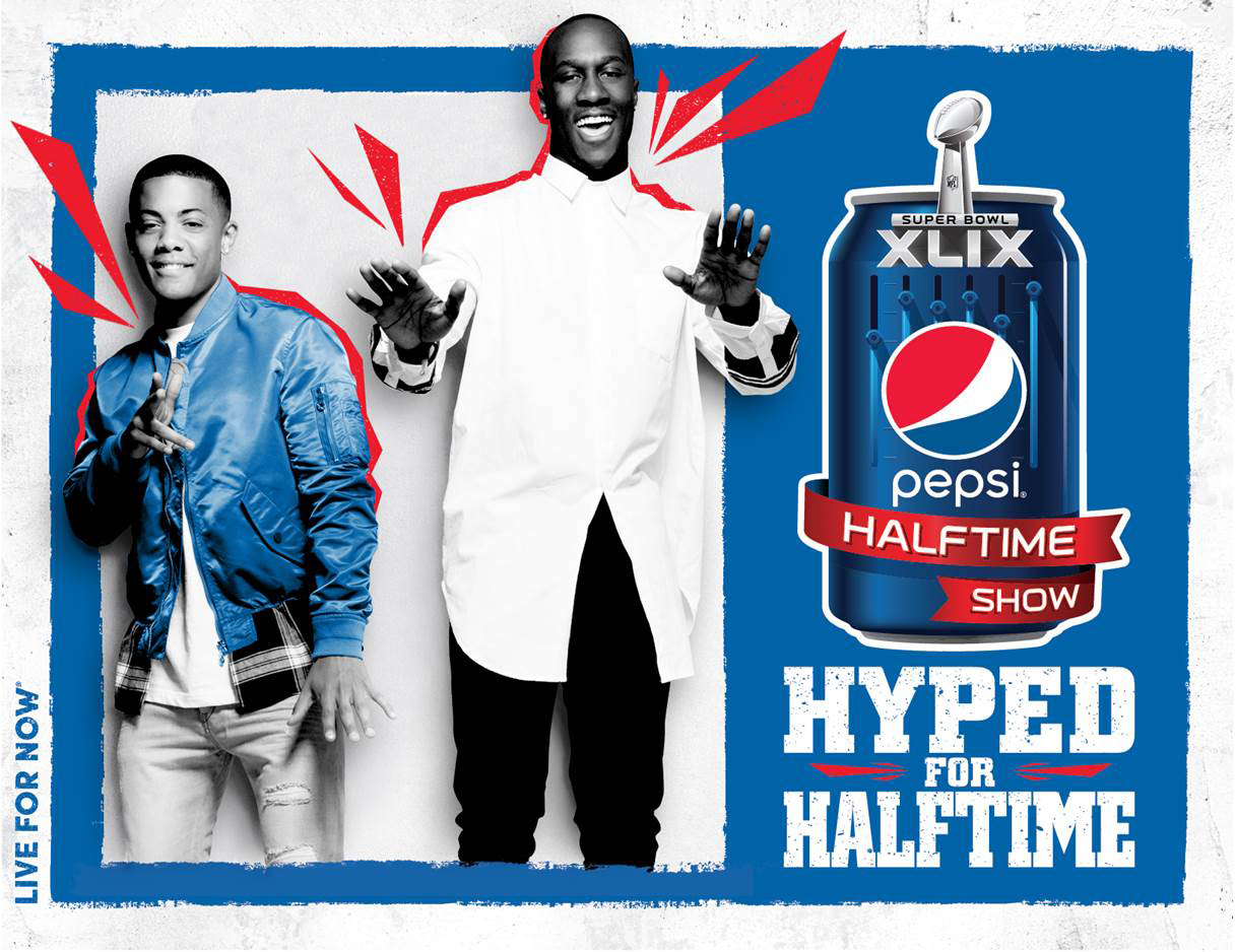 "Nico & Vinz will bring the magic of a Pepsi halftime show to Rochester, New York, winner of Pepsi's ""Hype Your Hometown"" contest, on Sunday, January 18."