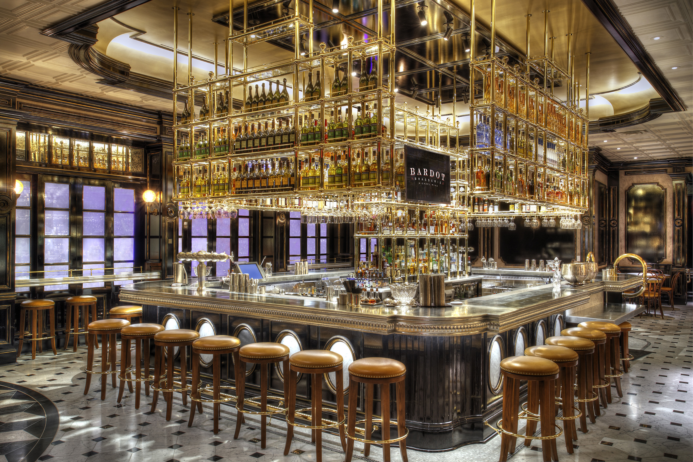 Open bardot brasserie at aria entices las vegas with for Cuisine las vegas