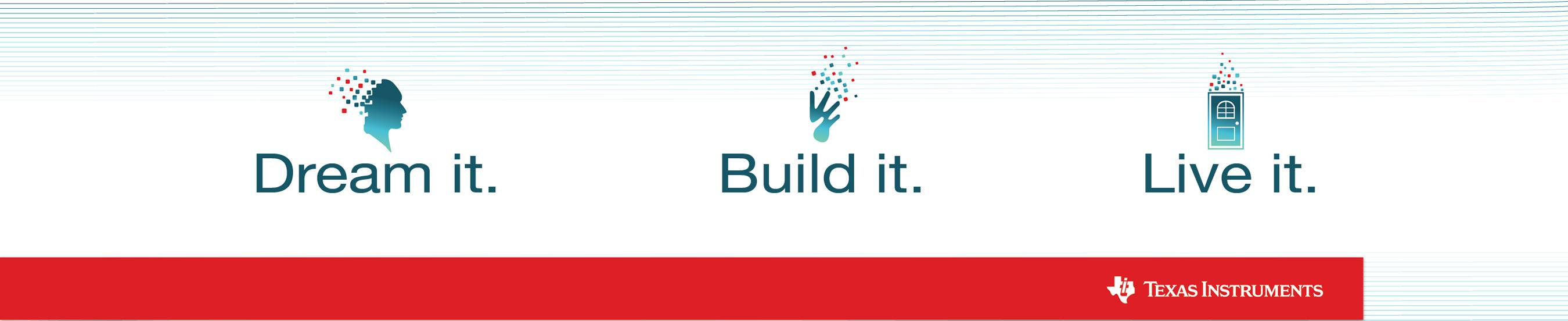 Dream Build Live Banner