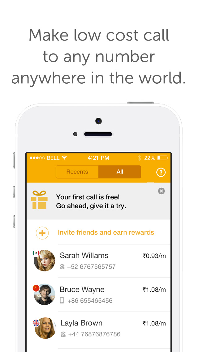 Ringo: The Smart International Calling app launches in India