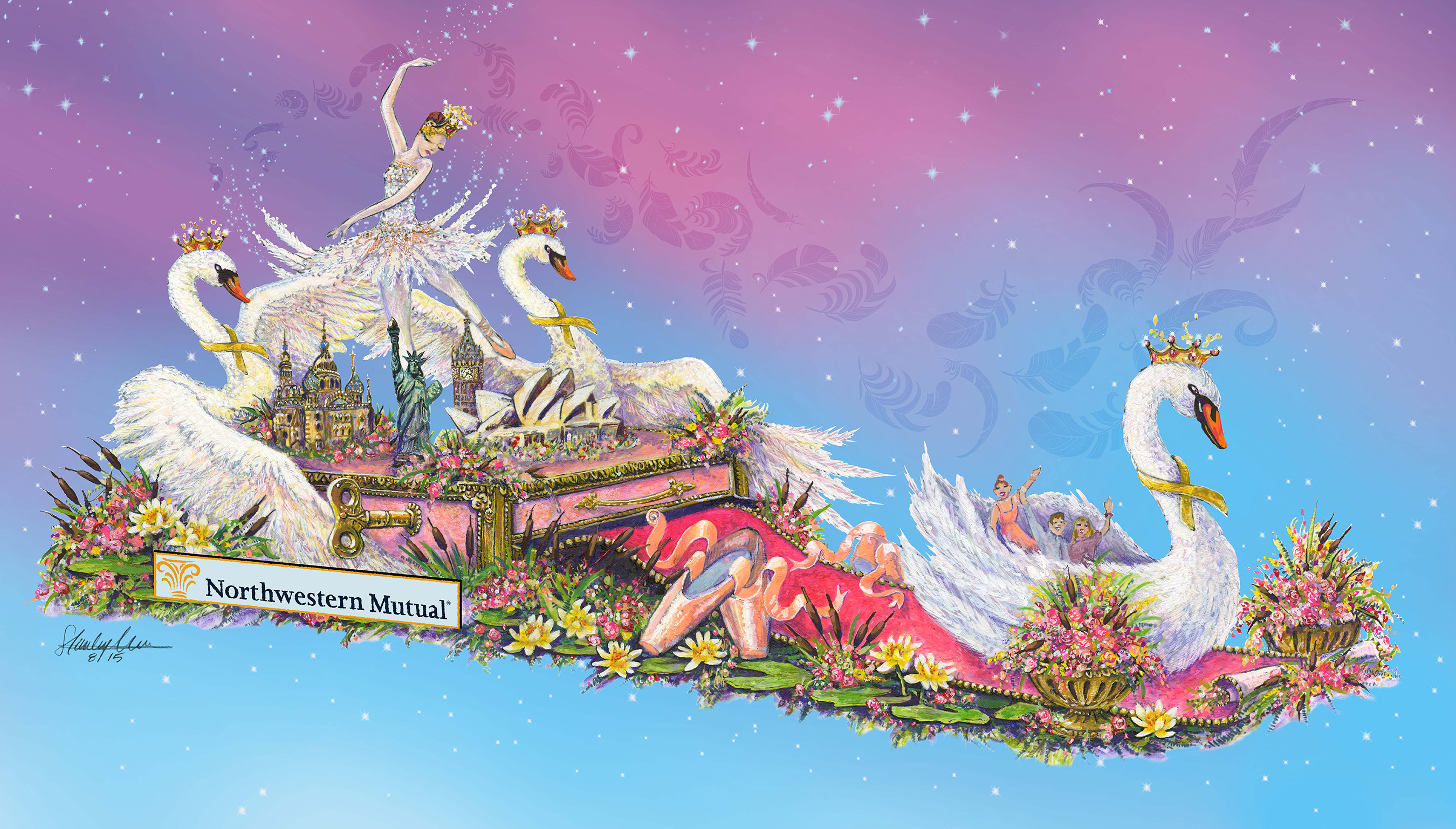 "Northwestern Mutual ""Dancing Into Adventure"" at 2016 Tournament of Roses® Parade"