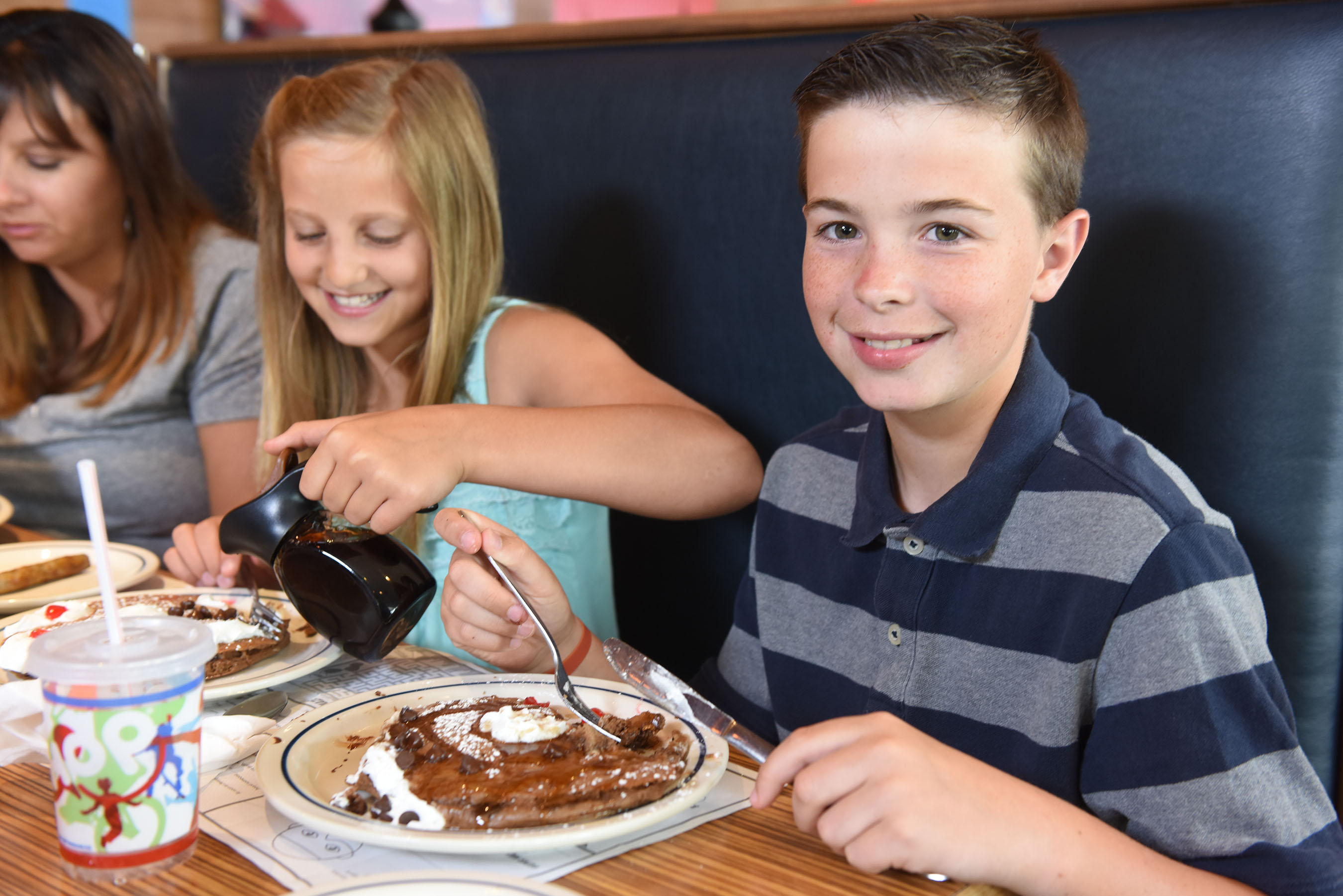 IHOP brings families together to enjoy freshly made-to-order food and specialty beverages.