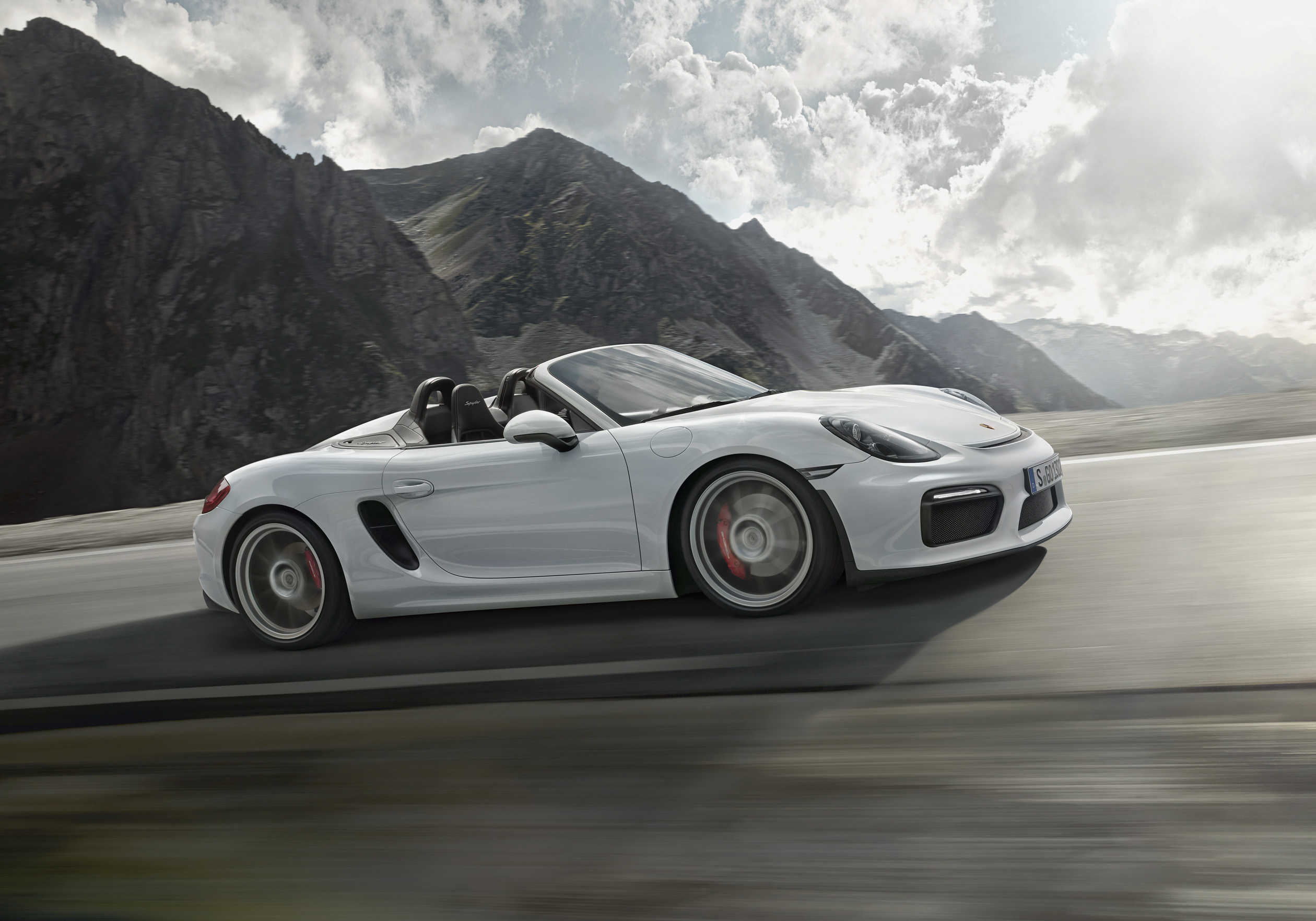 multimedia gallery the new porsche boxster spyder