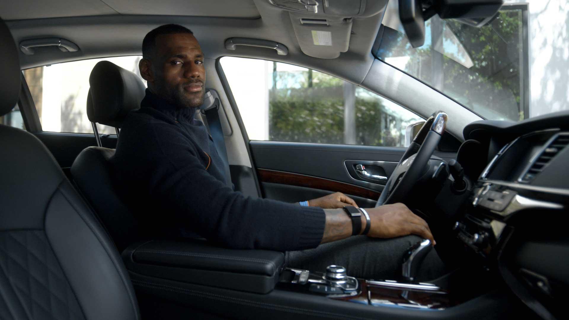 Kia luxury ambassador lebron james stars in a new ad campaign that debuts tonight