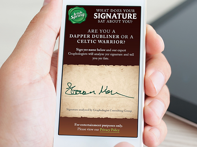 Sign your name and expert graphologists will analyze it to reveal your personality type.