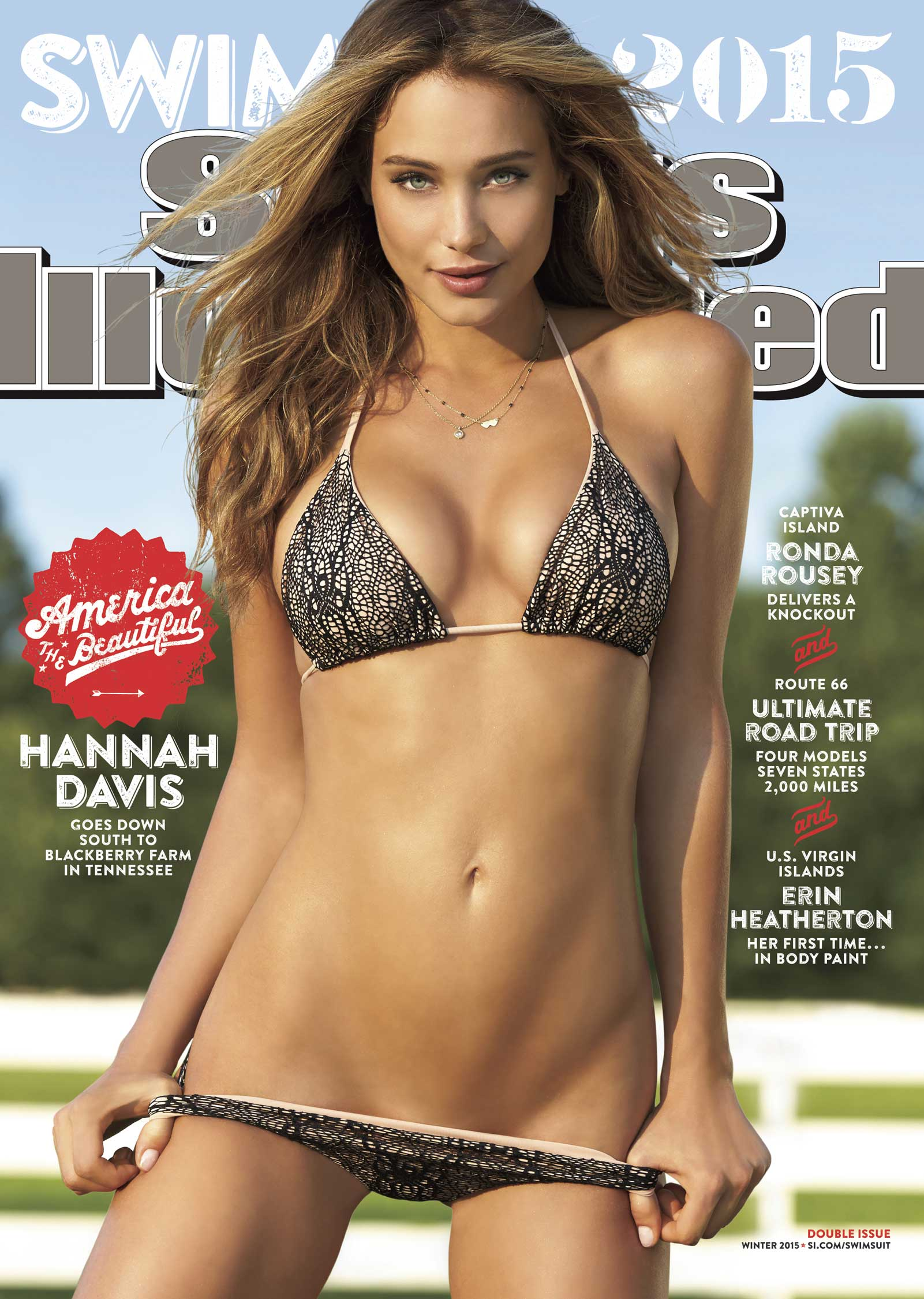 2015 Sports Illustrated Swimsuit Edition On Sale February 9th. Photo Credit: Ben Watts/Sports Illustrated