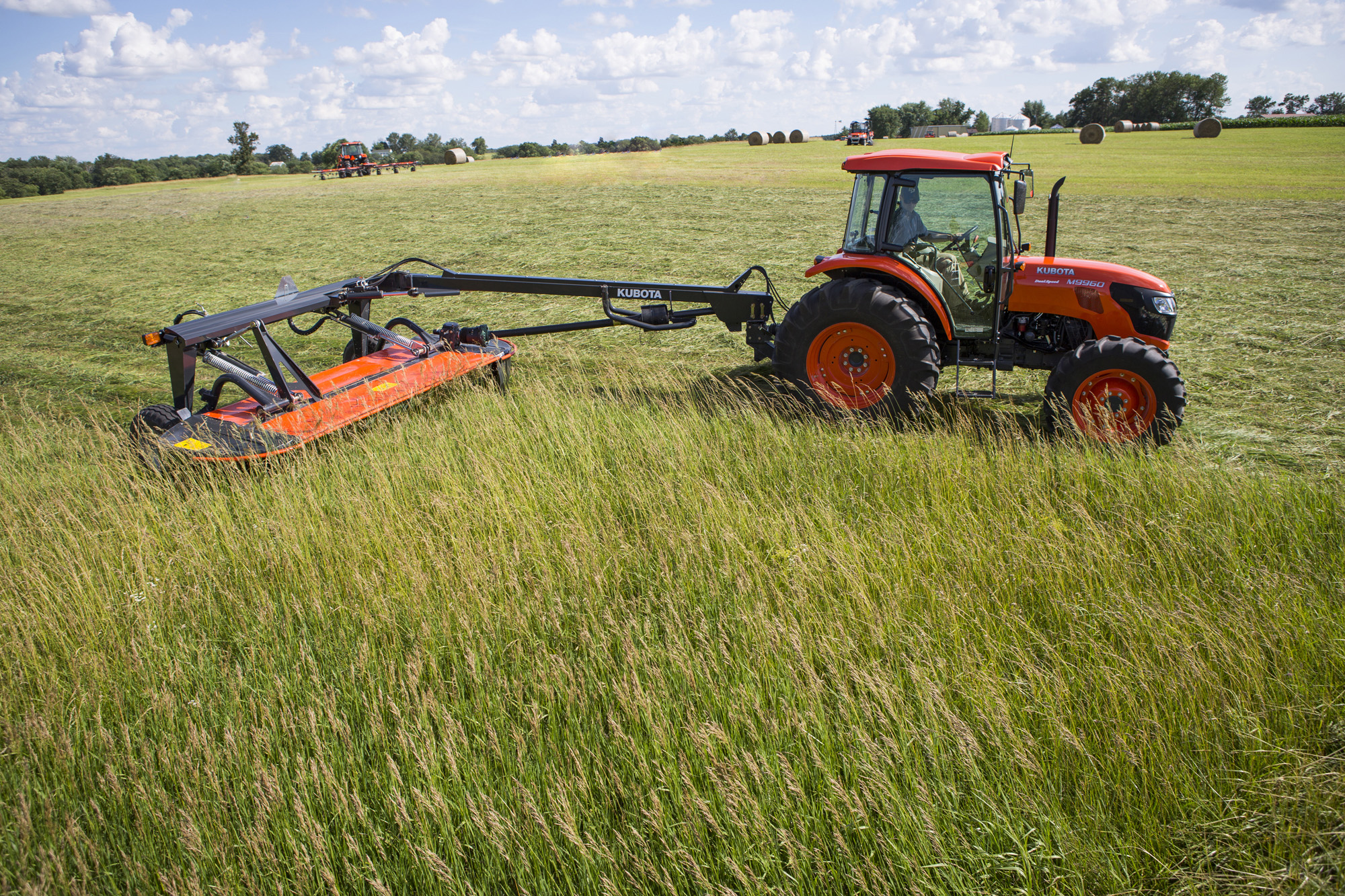 Tractor With Tools : New phase of kubota hay tools now available at dealerships