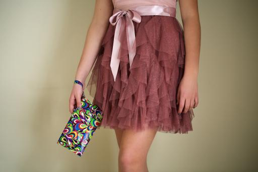 A Duck Tape clutch is a great way to express your individuality at prom