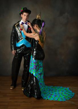 2015 Stuck at Prom Top 10 Finalist Couple, Ellie and Jonathan – Lexington, South Carolina