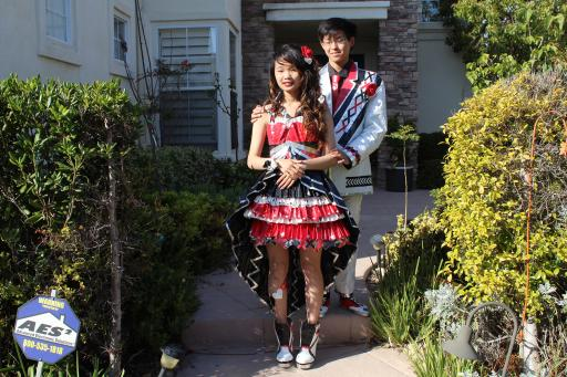 2015 Stuck at Prom Top 10 Finalist Couple, Corey and Lindsey – San Diego, California