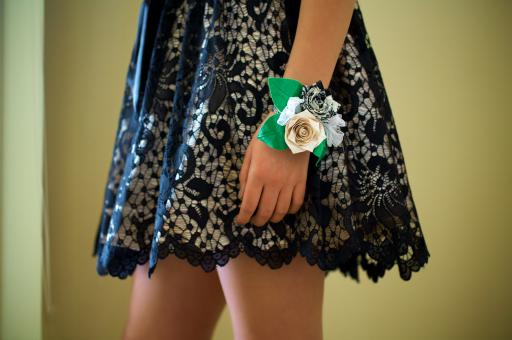You don't have to worry about expensive flowers wilting with a homemade Duck Tape corsage