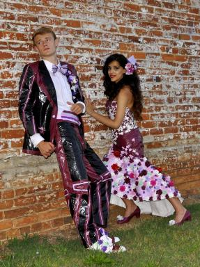 2015 Stuck at Prom Top 10 Finalist Couple, Andrea and Austin – Columbia, South Carolina