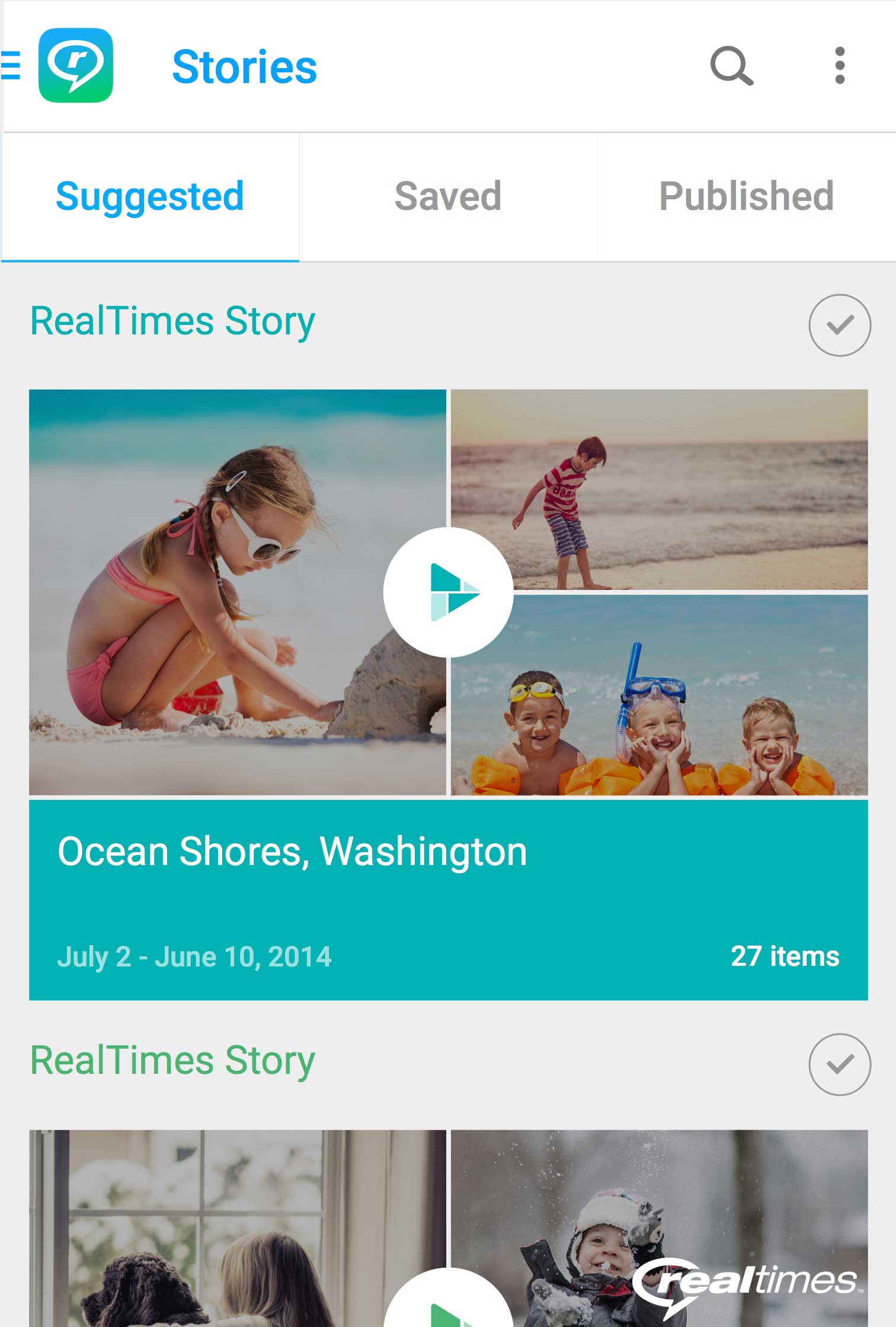 REALNETWORKS LAUNCHES REALTIMES, A BREAKTHROUGH IN HELPING