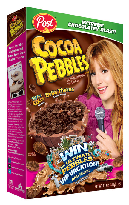 Young Hollywood sensation Bella Thorne takes charge, now leading Team Cocoa!