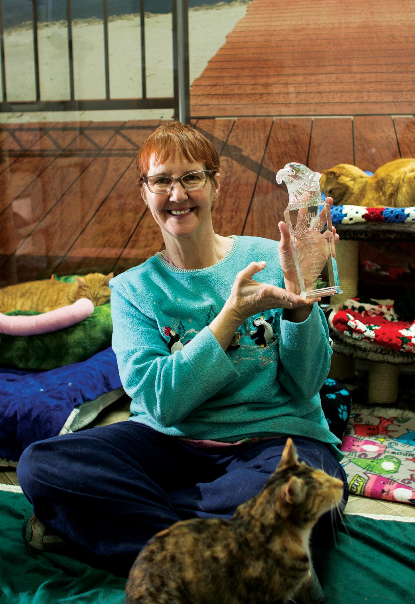 2015 Rare Life Award Presented To Alana Miller Of Blind