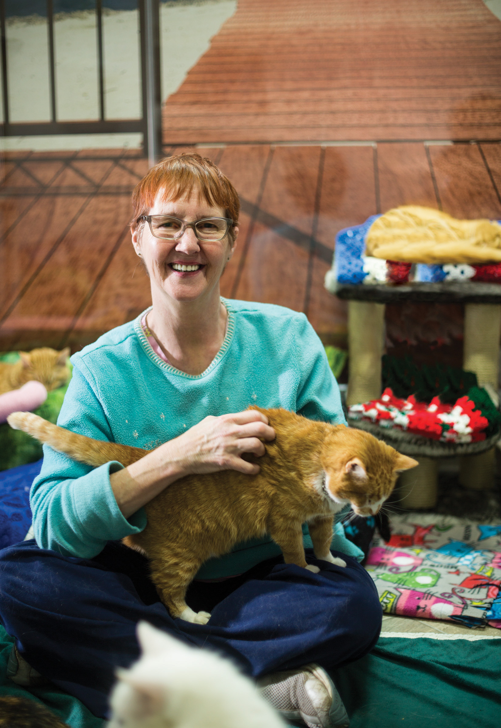 2015 Rare Life Award Presented to Alana Miller of Blind Cat Rescue & Sanctuary