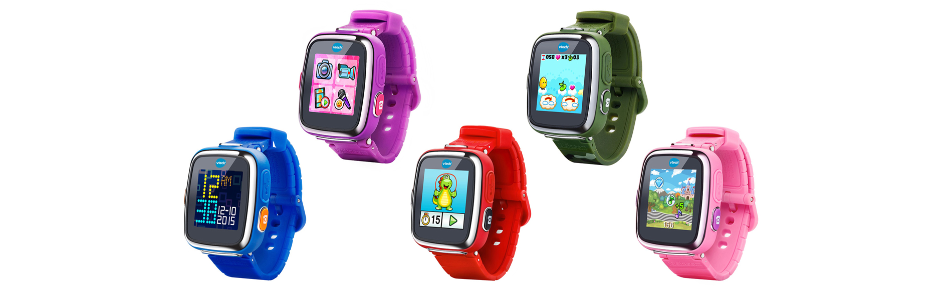 Smartest Watch for Kids Gets Even Smarter with VTech®'s Kidizoom® Smartwatch DX