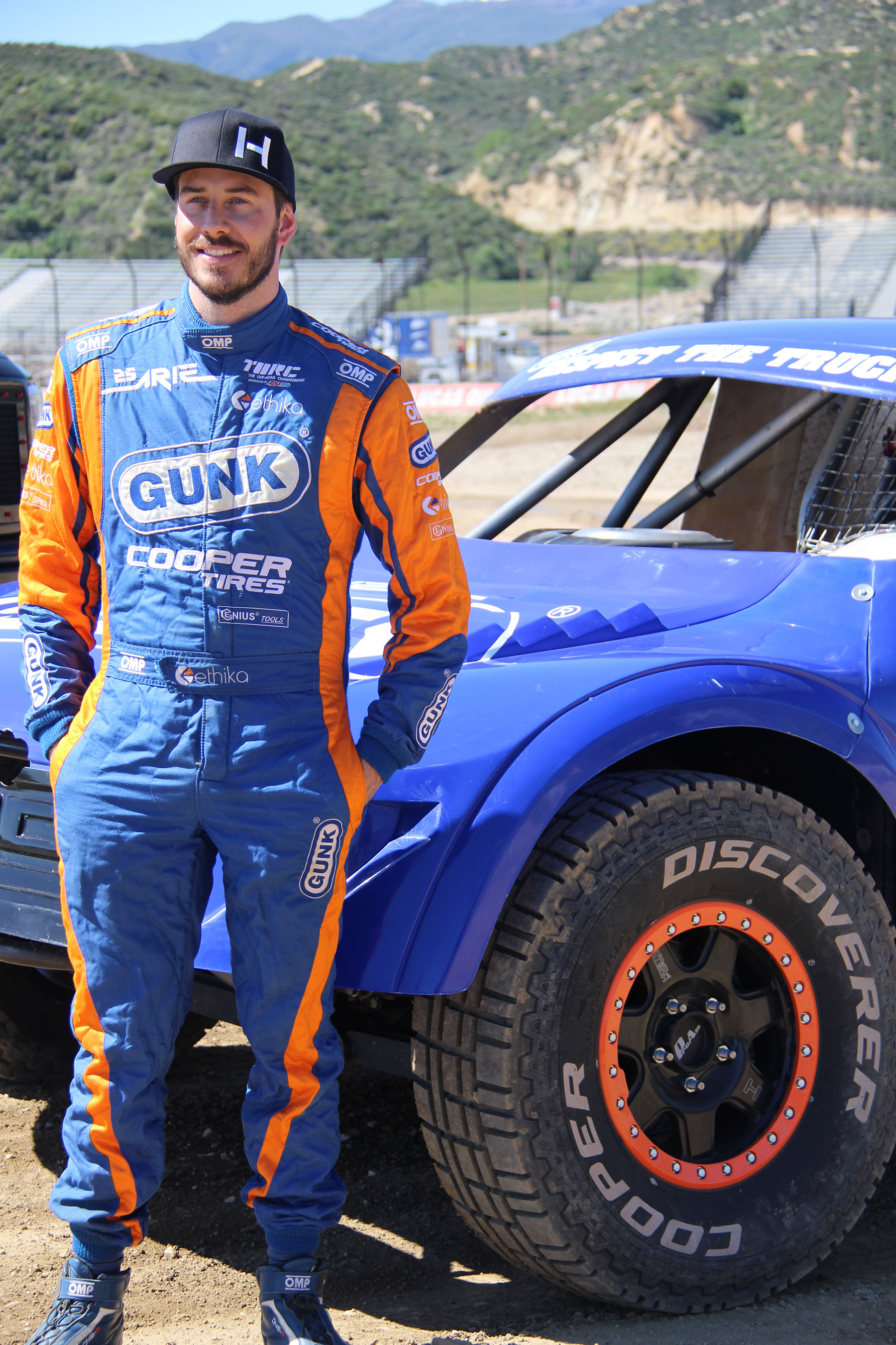 With several prior PRO 2 podium finishes under his belt, Arie Luyendyk Jr. preps for 2015's TORC season with all-new forged, bead-lock wheels, custom-designed to match his livery by Hostile Wheels.