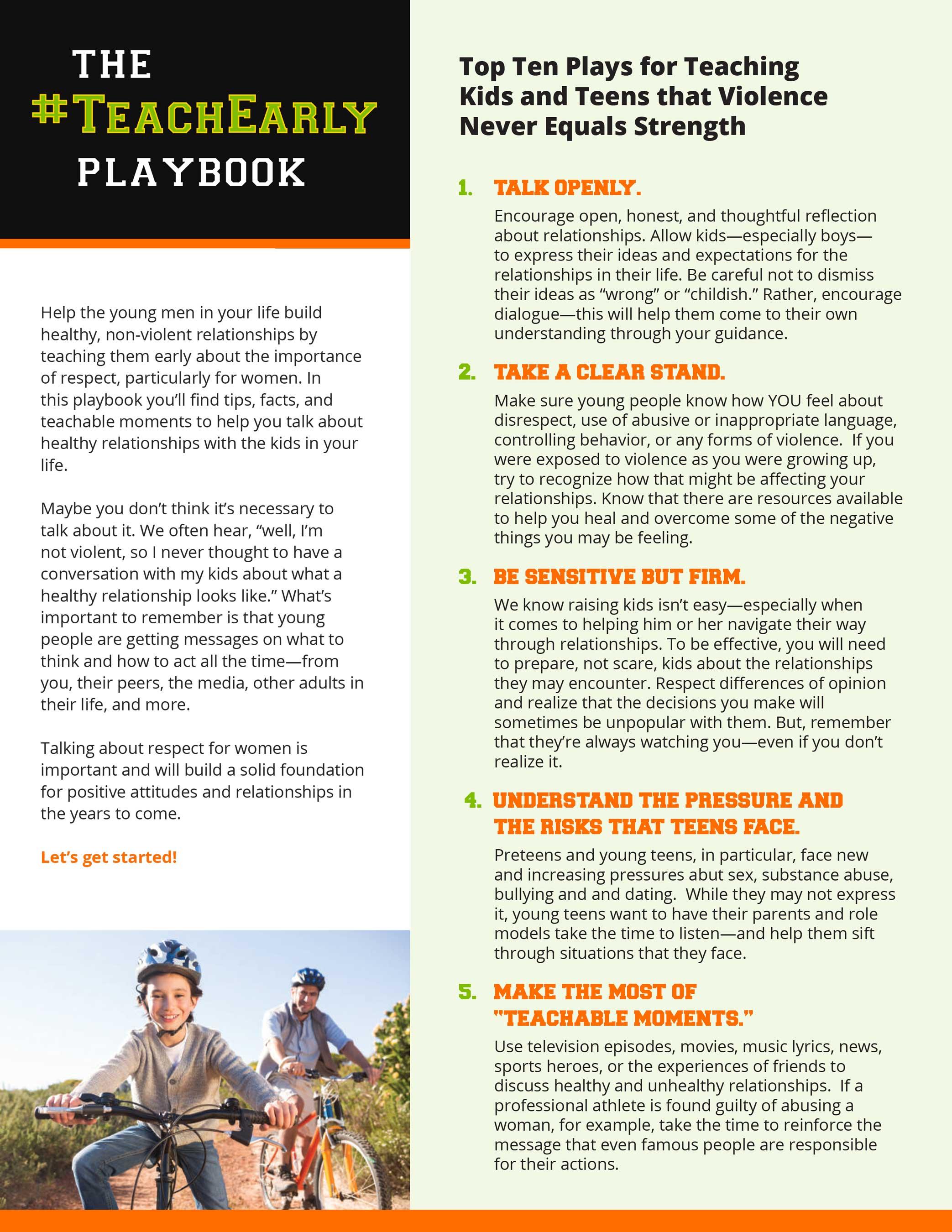 Teach Early Playbook