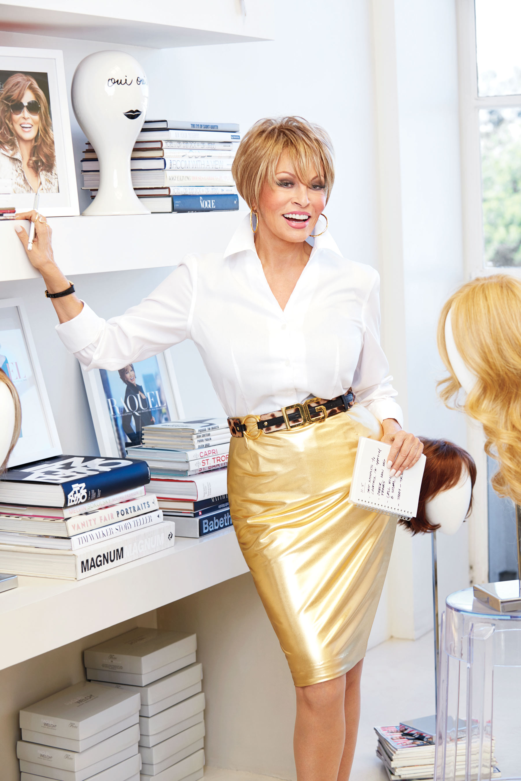 Raquel Welch Named Creative Director Of Hairuwear