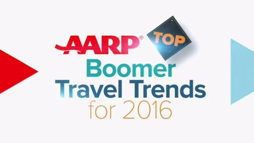 AARP's Travel Ambassador Samantha Brown Unveils the 2016 Top Travel Trends for Baby Boomers