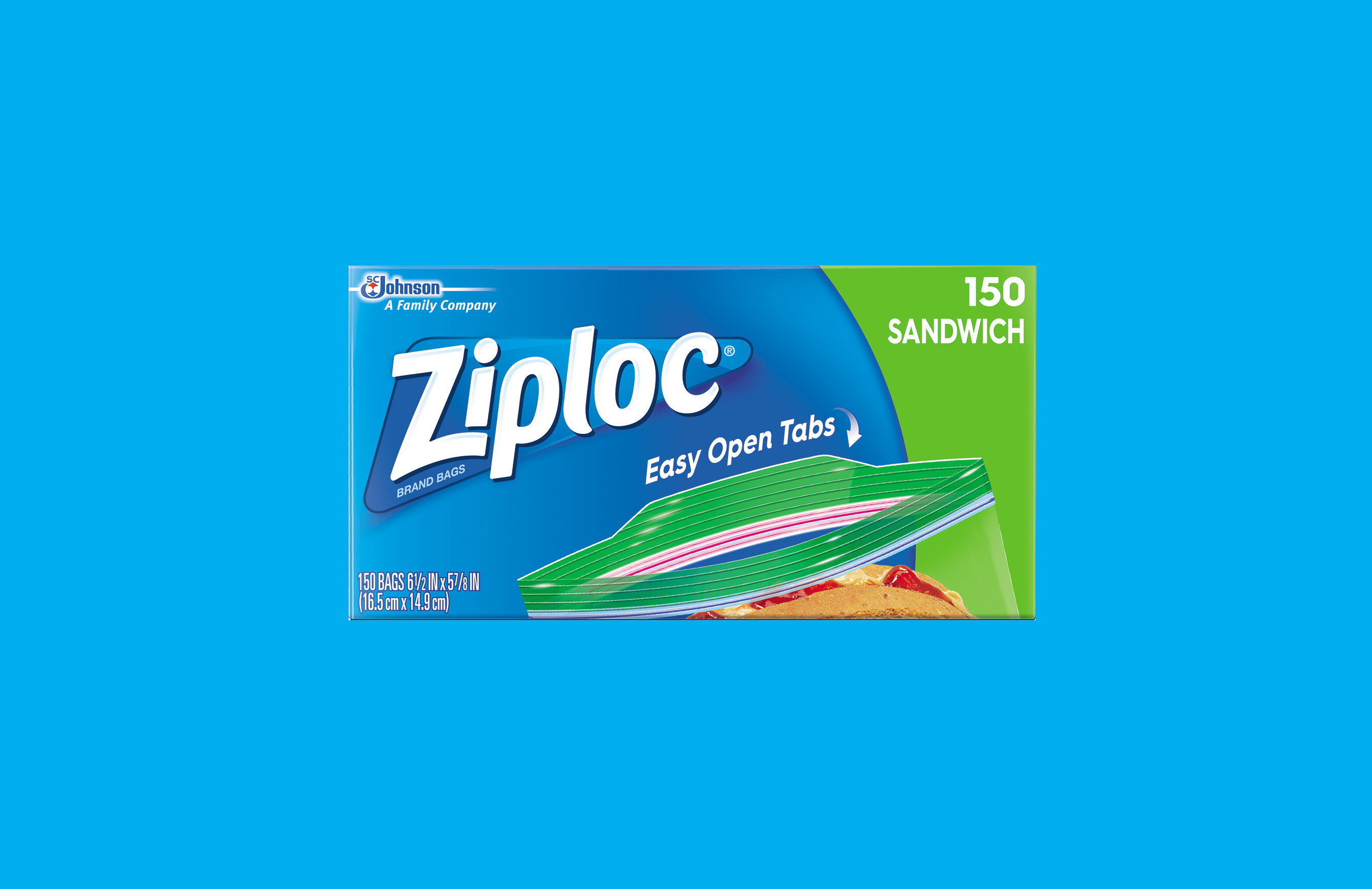 Ziploc® Brand Launches its Latest Innovation—Easy Open Tab ...