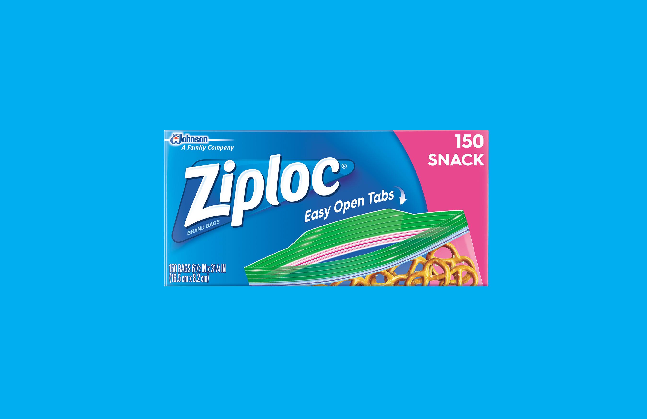 Ziploc® Brand Launches its Latest Innovation—Easy Open Tab ... Open Ziploc Bag