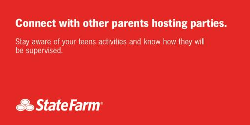 Connect with Other Parents Hosting Parties social graphic