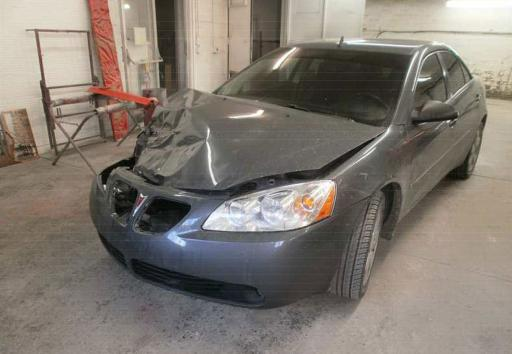 Sedan involved in a collision with a deer 2