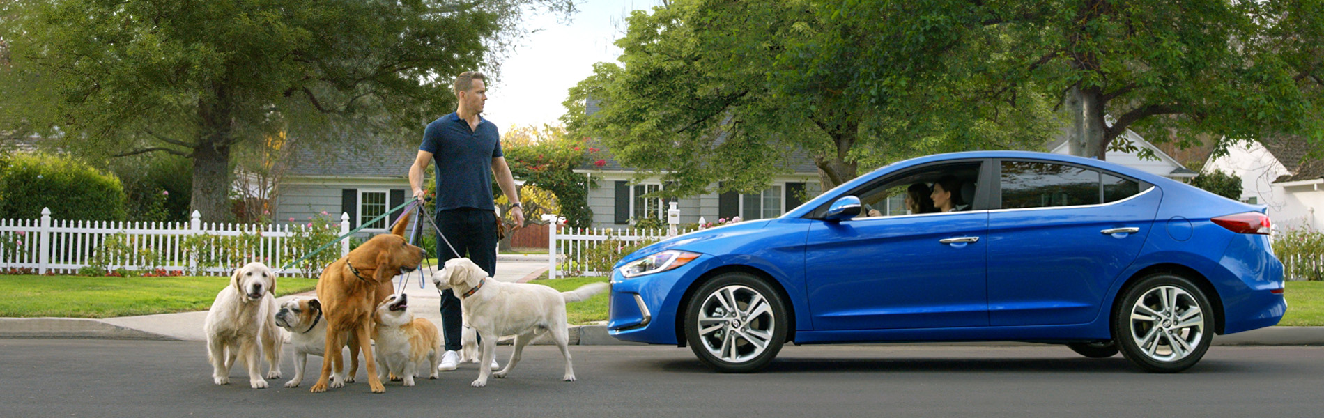 """""""Ryanville"""", featuring the all-new Elantra, takes a lighthearted look at the simple fact that all humans are prone to distraction."""