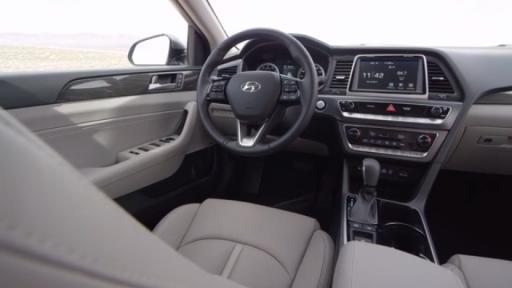 2018 Hyundai Sonata Interior B Roll