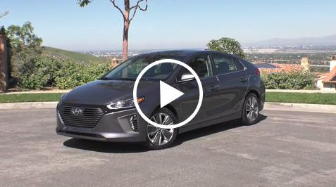 2017 Hyundai IONIQ Hybrid Static B-roll