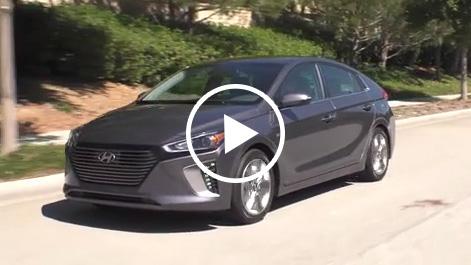2017 Hyundai IONIQ Hybrid Dynamic B-roll